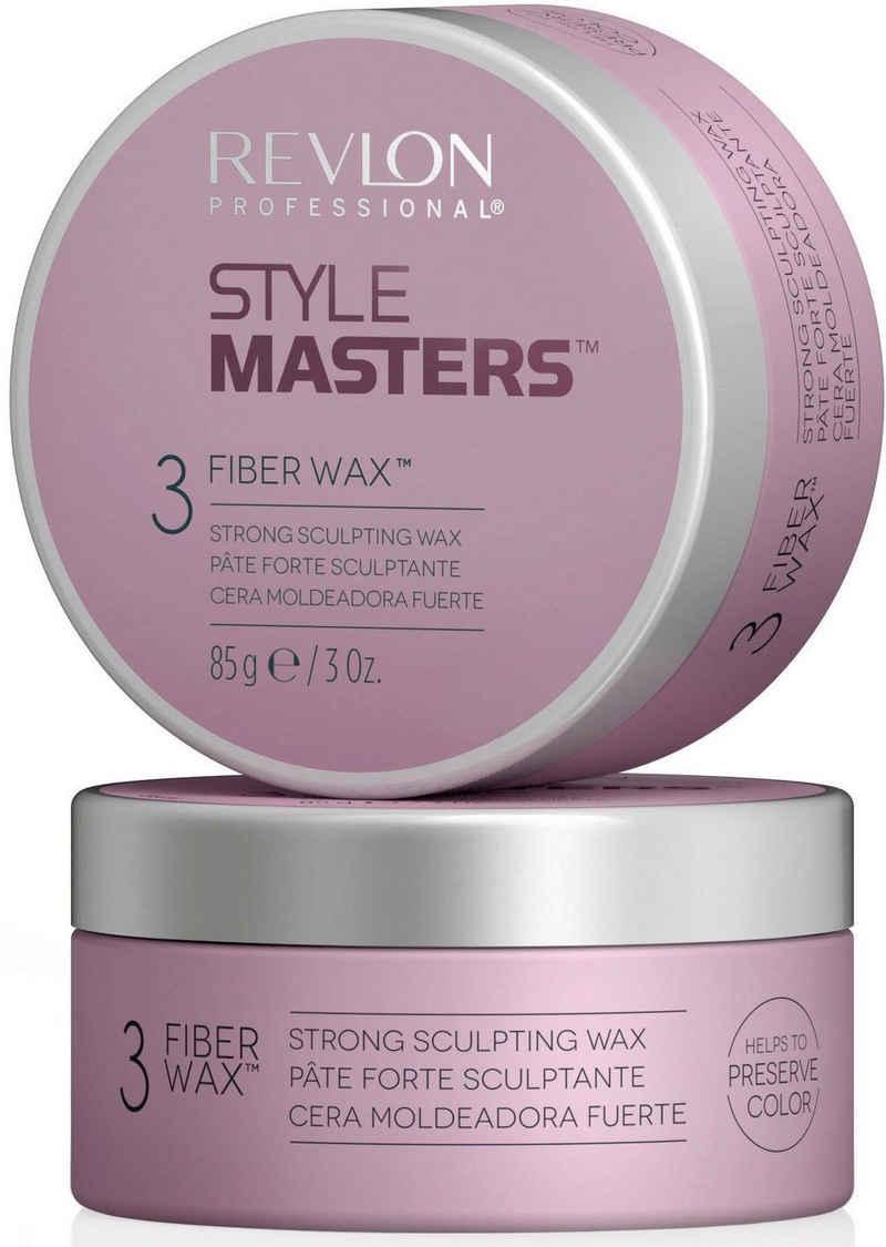 REVLON PROFESSIONAL Haarwachs »Style Masters Fiber Wax Strong Sculpting Wax«, maximaler Halt