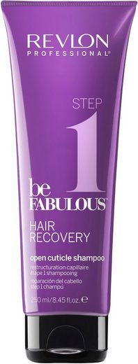 REVLON PROFESSIONAL Haarshampoo »Be Fabulous Step 1 Recovery Open Cuticle Shampoo«, tiefenreinigendes Shampoo