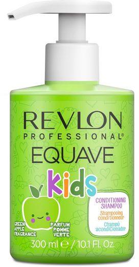 REVLON PROFESSIONAL Gelshampoo »Equave kids Green Apple Hypoallergenic Shampoo«, sulfat- und seifenfrei