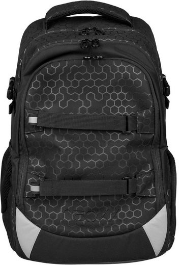 neoxx Schulrucksack »Active, Lost in black«