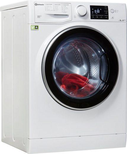 BAUKNECHT Waschmaschine WM Steam 8 100, 8 kg, 1400 U/Min, 4 Jahre Herstellergarantie
