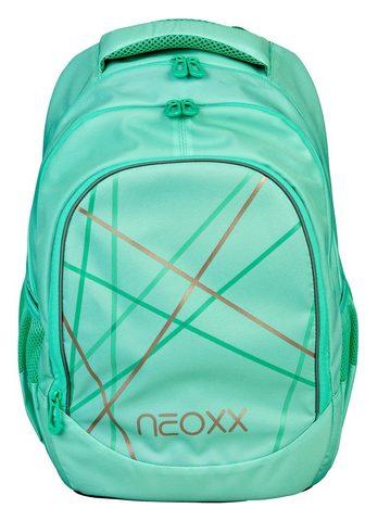 NEOXX Mokyklinė kuprinė »Fly Mint to be«