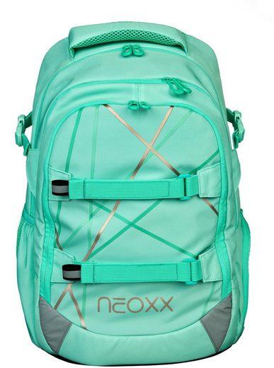 neoxx Schulrucksack »Active, Mint to be«