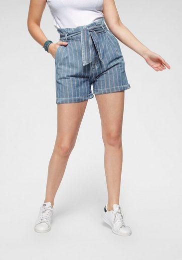 LTB Paperbag-Hose »DORLA« als Shorts im Streifen-Look