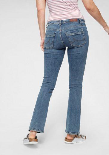 LTB Bootcut-Jeans »VALERIE« mit Backpocket-Verzierungen