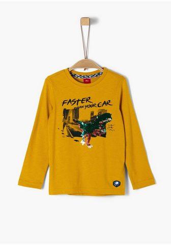 S.OLIVER Marškinėliai ilgomis rankovėmis Jungen...