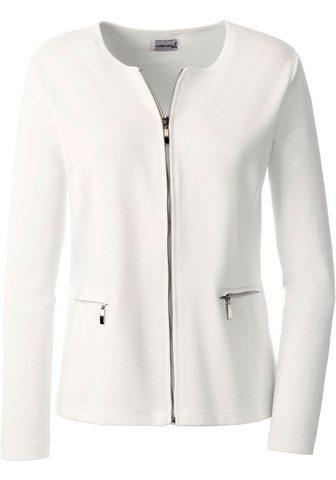 Пиджак трикотажный в модный Rippoptik