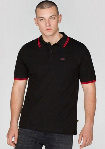 Alpha Industries Poloshirt »TWIN STRIPE POLO II«