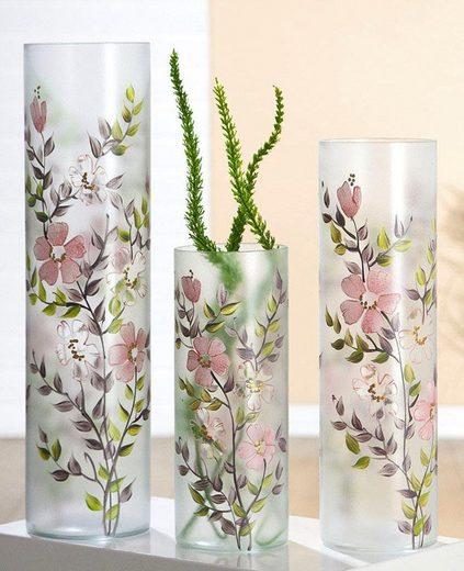 GILDE Tischvase »Kirschblüte«, Glasvase