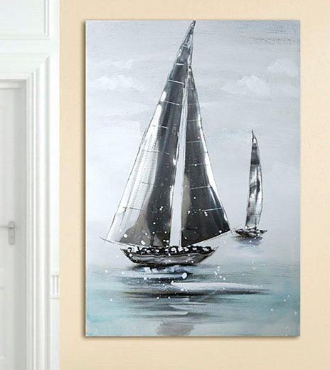 GILDE Leinwandbild »Sailing Boat«