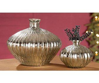 GILDE Настольная ваза »Plata«