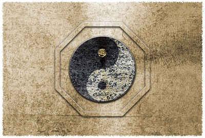 Architects Paper Fototapete »Atelier 47 Yin & Yan 2«, glatt, orientalisch, (4 St)