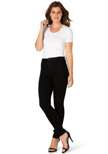 DNIM by Yest Skinny-fit-Jeans »Fay« SKinny Fit in hochelastischer Qualität