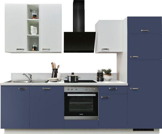 Einbauküchen - Express Küchen Küchenzeile »Bari«, mit E Geräten, Breite 280 cm  - Onlineshop OTTO
