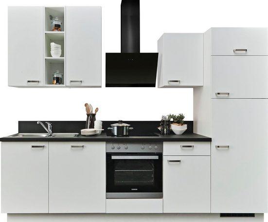 Express Küchen Küchenzeile »Bari«, ohne E-Geräte, Breite 280 cm