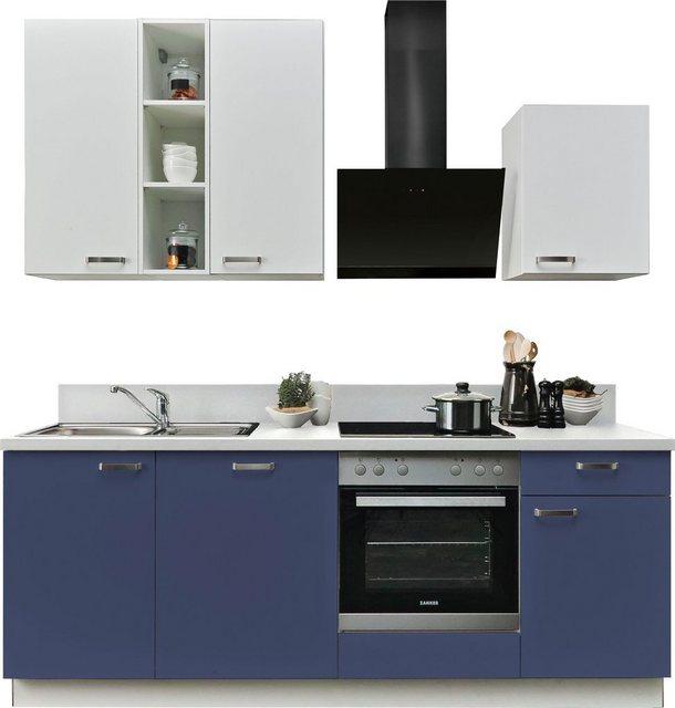 Einbauküchen - Express Küchen Küchenzeile »Bari«, mit E Geräten, Breite 220 cm  - Onlineshop OTTO
