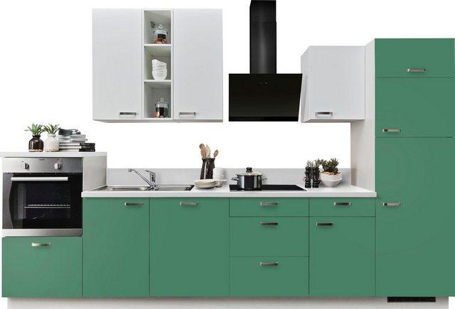 Einbauküchen - Express Küchen Küchenzeile »Bari«, mit E Geräten, Breite 340 cm  - Onlineshop OTTO