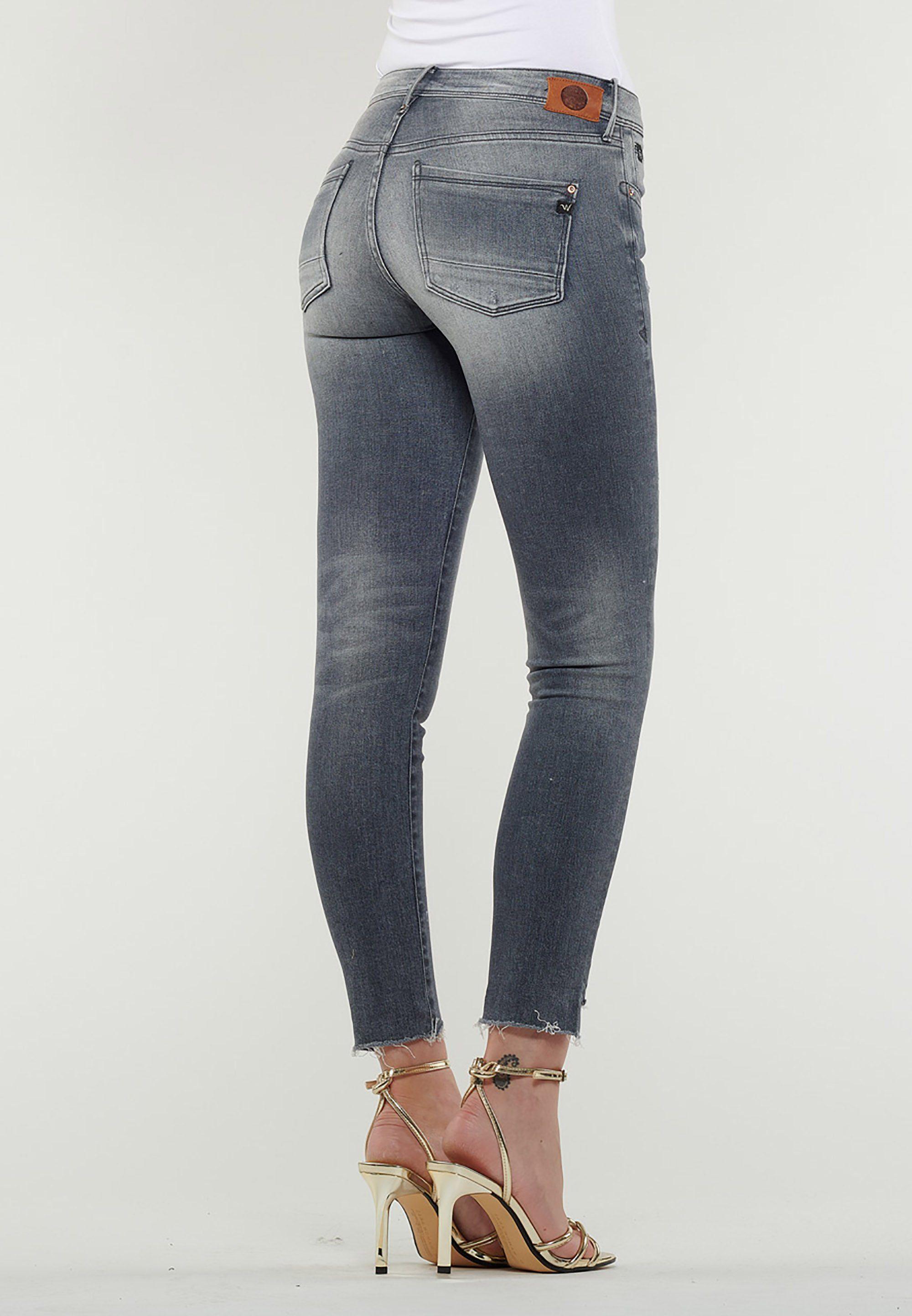 Le Temps Des Cerises Jeanshose mit schrägen Beinabschlüssen »POWERC« online kaufen | OTTO