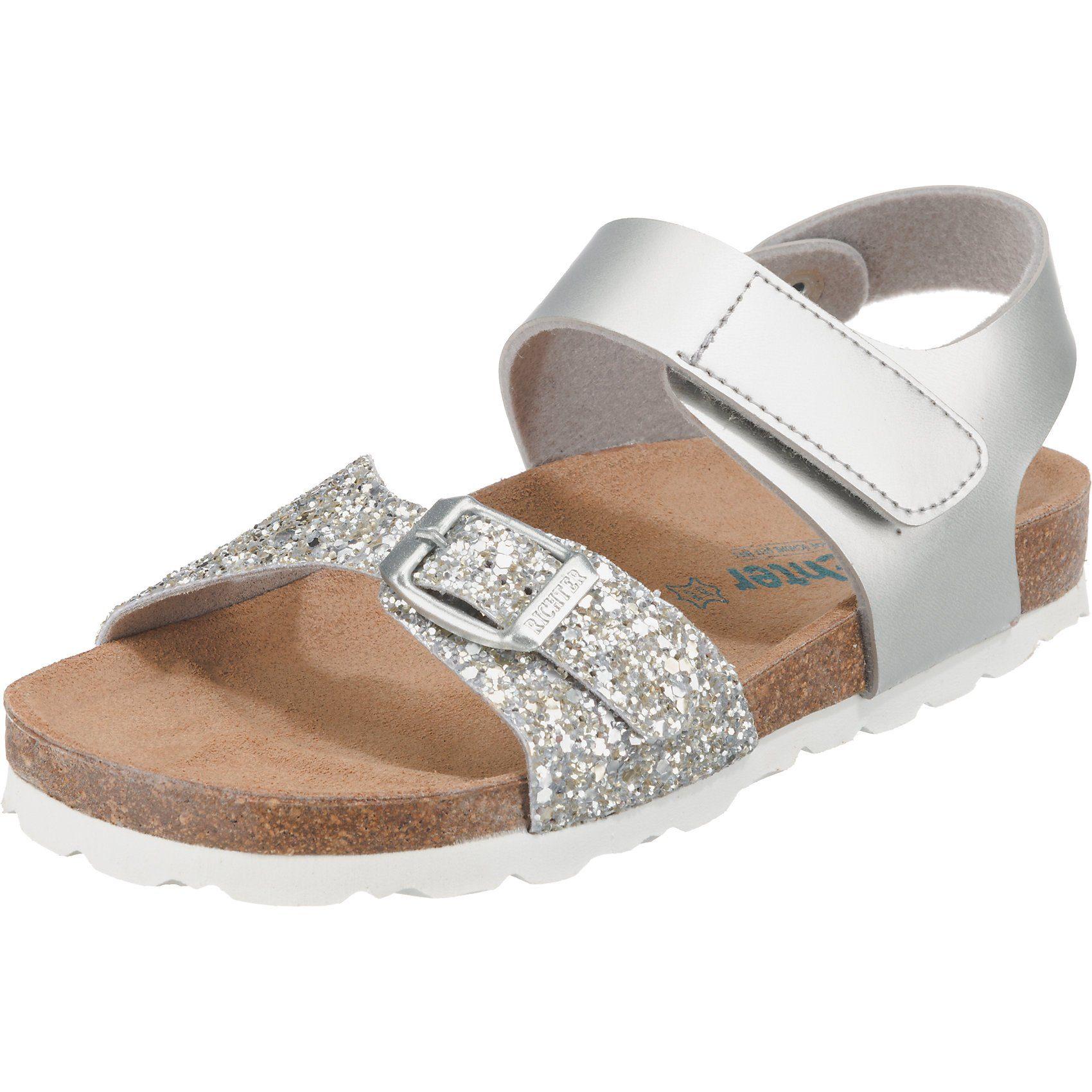 Mädchen Sandalen in Farbe silber online kaufen