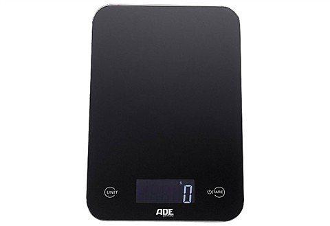 ADE Digitale Küchenwaage KE 915/926/927 Slim in schwarz