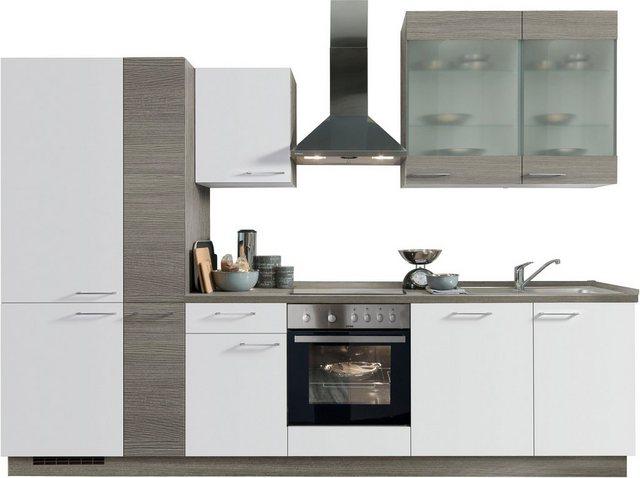 Einbauküchen - Express Küchen Küchenzeile »Trea«, mit E Geräten, Breite 310 cm  - Onlineshop OTTO