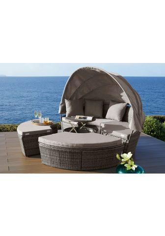 KONIFERA Sodo sofa-lova »Tahiti Premium« Polyra...
