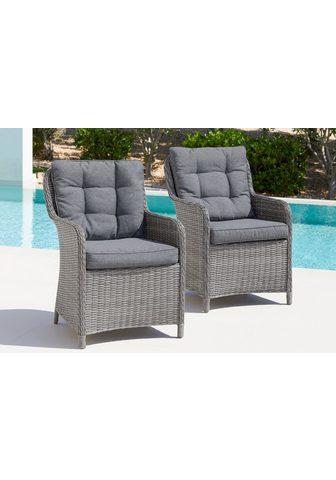 KONIFERA Rinkinys: sodo kėdė »Menorca« 2vnt. ri...
