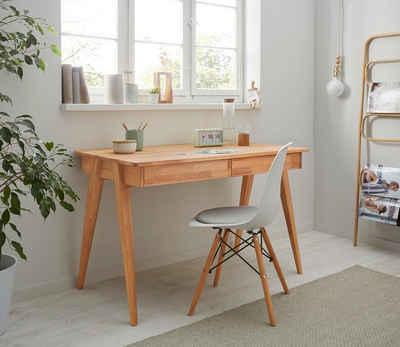 Holzzone Schreibtisch »Harry«, aus Massivholz
