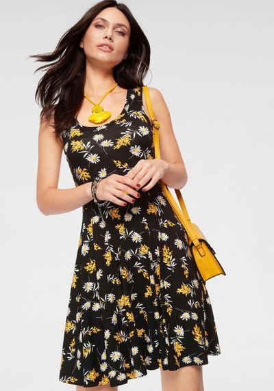 Laura Scott Jerseykleid mit weit schwingendem Saum