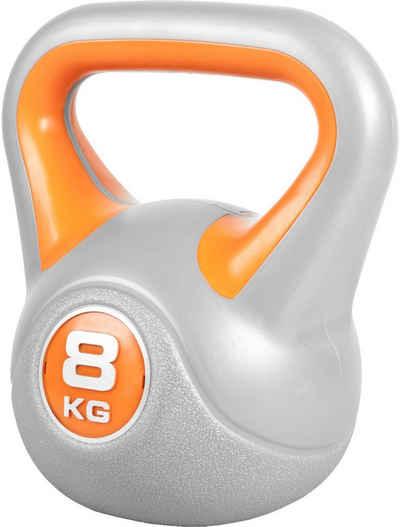 GORILLA SPORTS Kettlebell »Kettlebell Stylish Kunststoff 8 kg«, 8 kg