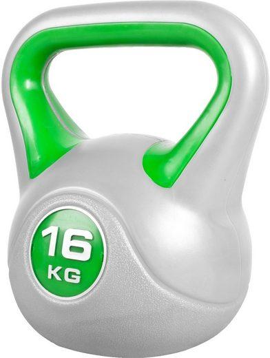 GORILLA SPORTS Kettlebell »Kettlebell Stylish Kunststoff 16 kg«, 16 kg