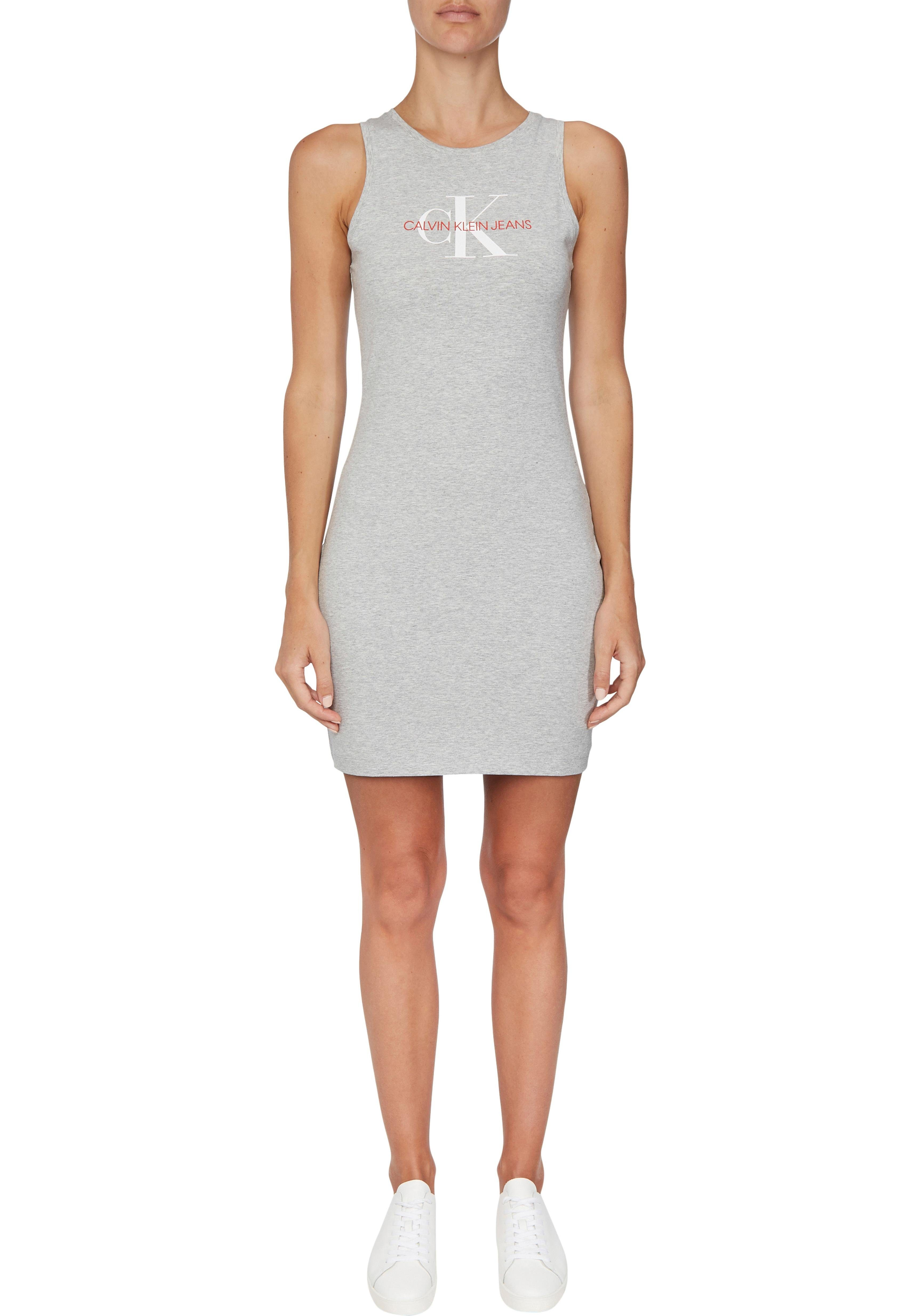 Jerseykleid »MONOGRAM STRETCH TANK DRESS« mit Logo Print