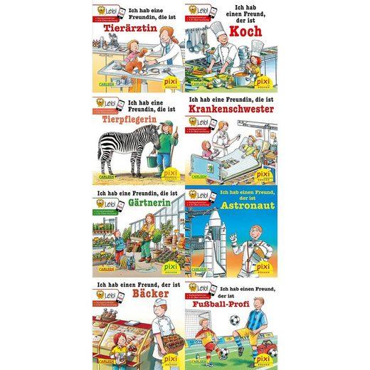 Carlsen Verlag Pixi Bücher: Meine Lieblingsberufe (mit LeYo), 8 Hefte