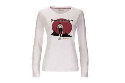 Luis Trenker Longsleeve »Luis Trenker Damen T-Shirt Claris«