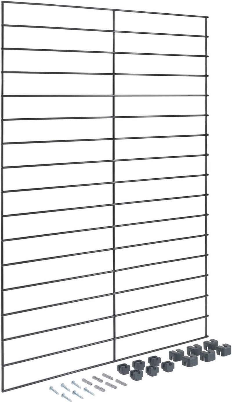 Metaltex Regalelement »Mural line«, Set 1-tlg., individuell erweiterbar