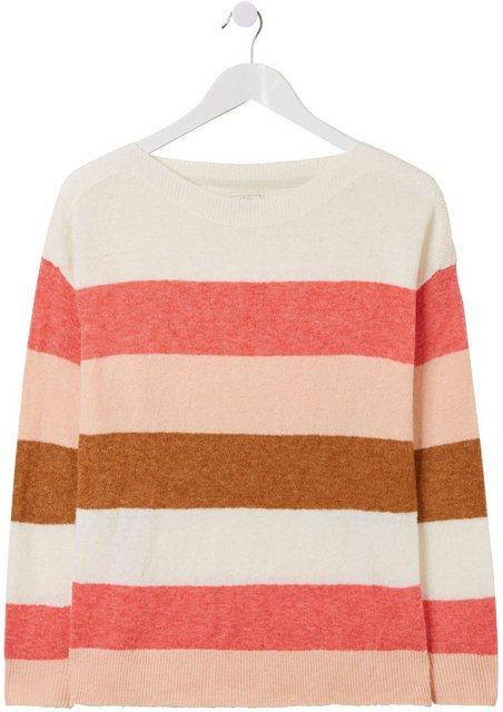 FatFace Streifenpullover »SOPHIE COLOUR BLOCK JUMPER« im besonderen Streifendesign | Bekleidung > Pullover > Streifenpullover | FatFace