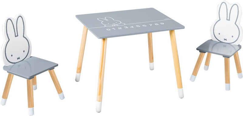 roba® Kindersitzgruppe »Miffy«, (3-tlg)