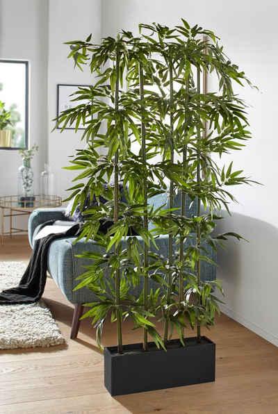 Kunstpflanze »Bambus«, Creativ green, Höhe 165 cm