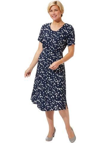 CLASSIC BASICS Suknelė su Vienos siuvinėjimas