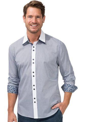 MARCO DONATI Marškiniai ilgomis rankovėmis su gepfl...