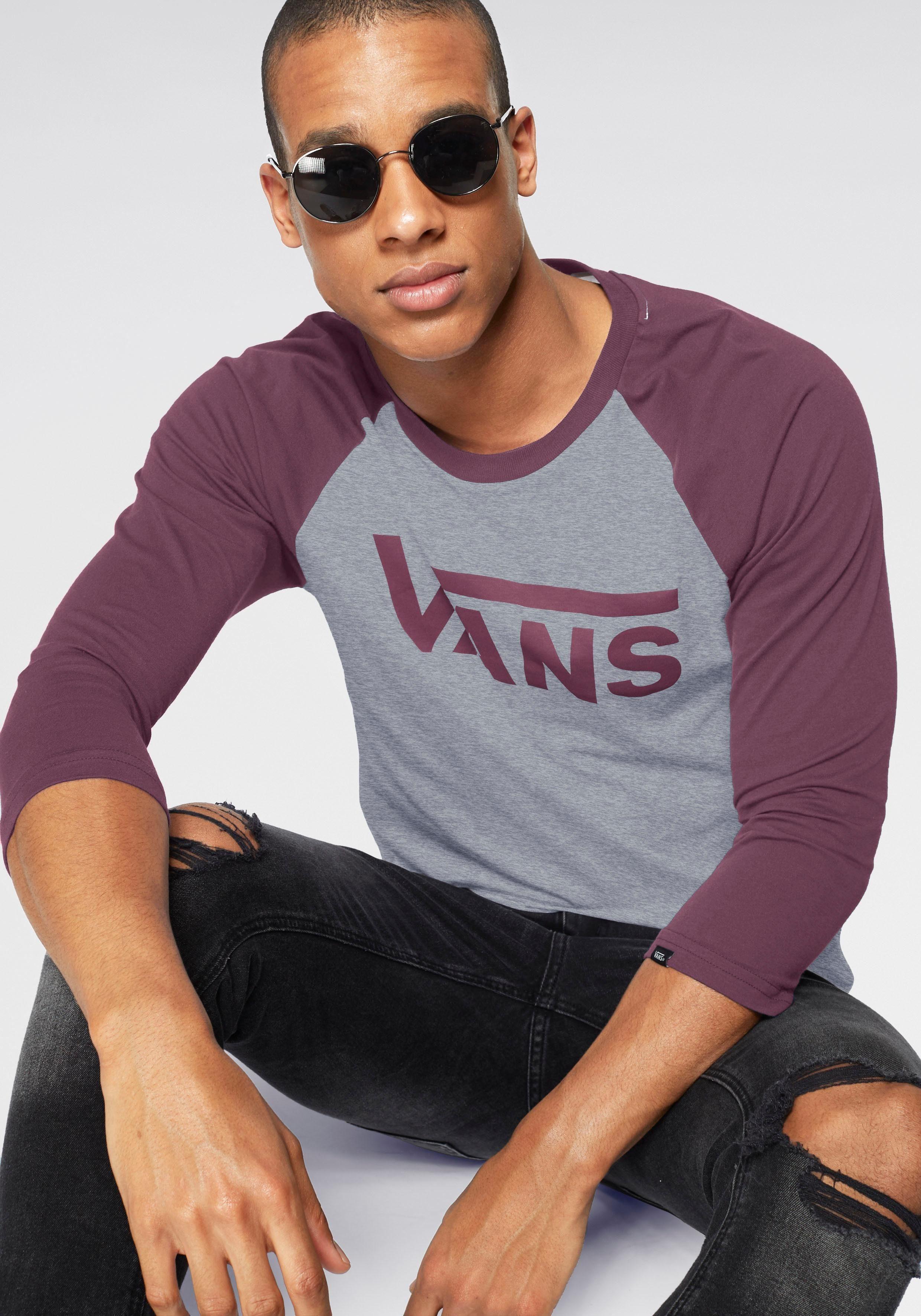 Vans Langarmshirt »VANS CLASSIC RAGLAN«, Langarmshirt in 34 Armlänge von Vans online kaufen | OTTO