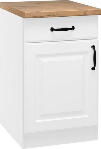 wiho Küchen Unterschrank »Erla« 50 cm breit mit Kassettenfront
