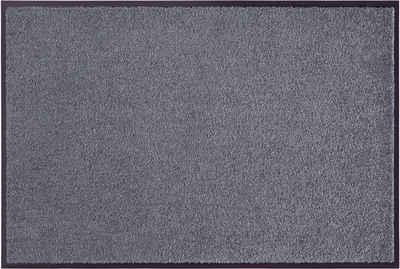 Fußmatte »Clean & Walk«, my home, rechteckig, Höhe 7 mm, Schmutzfangmatte, In- und Outdoor geeignet, waschbar