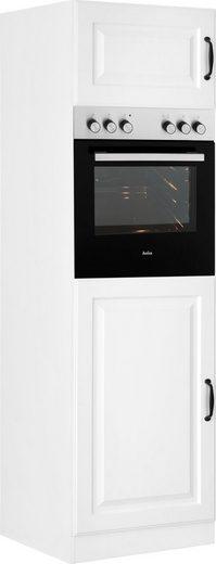 wiho Küchen Backofen/Kühlumbauschrank »Erla« 60 cm breit mit Kassettenfront