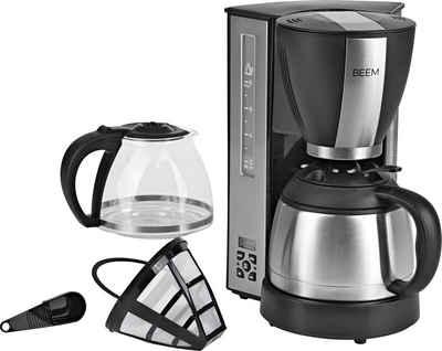 BEEM Filterkaffeemaschine Fresh-Aroma-Select Duo, 1,25l Kaffeekanne, Permanentfilter 1x4