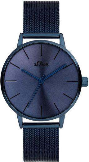 s.Oliver Quarzuhr »SO-3974-MQ«
