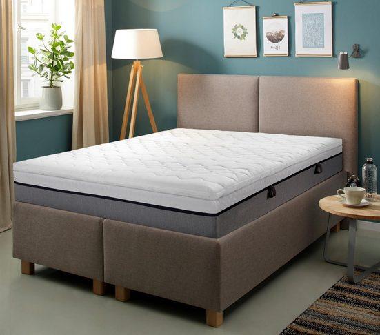 Topper »VS Green«, Hn8 Schlafsysteme, 6 cm hoch, Raumgewicht: 50, Viscoschaum, schmiegt sich wunderbar an deinen Körper an