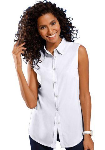 Блуза без рукава с легко закругленный ...