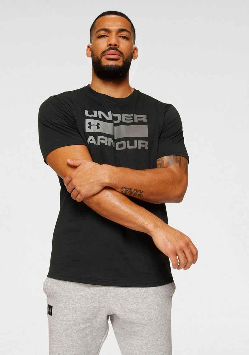 Under Armour® T-Shirt »TEAM ISSUE WORDMARK SHORT SLEEVE«
