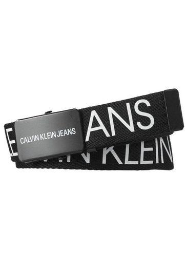 Calvin Klein Jeans Stoffgürtel stufenlos verstellbar